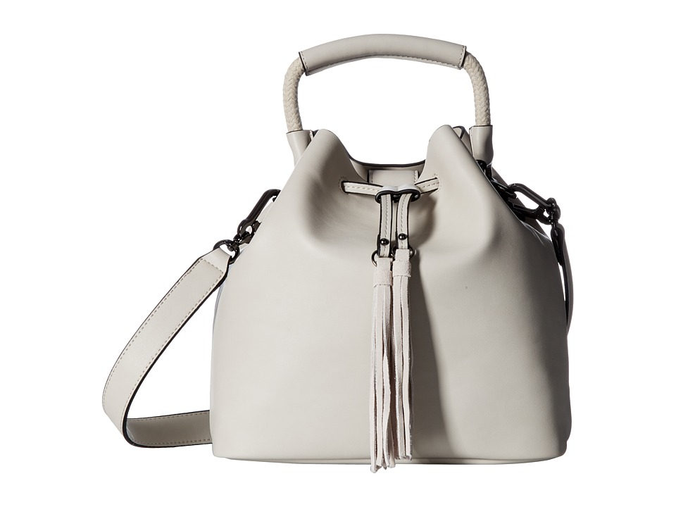 French Connection - Alana Drawstring (Freeway Grey) Drawstring Handbags
