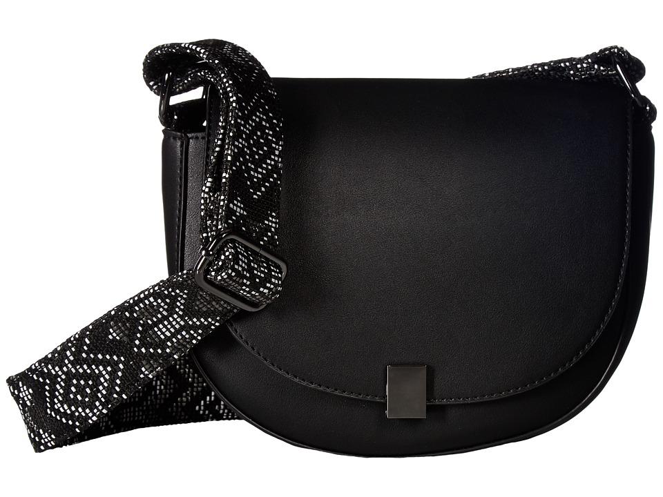 French Connection - Mia Shoulder Bag (Black) Shoulder Handbags