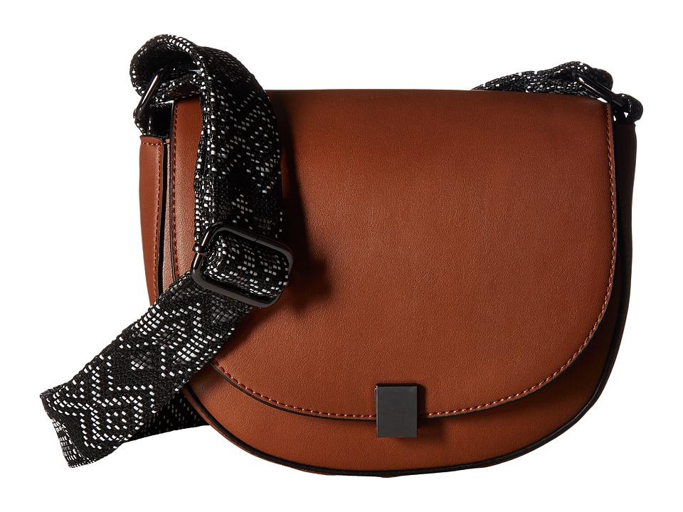French Connection - Mia Shoulder Bag (Nutmeg) Shoulder Handbags