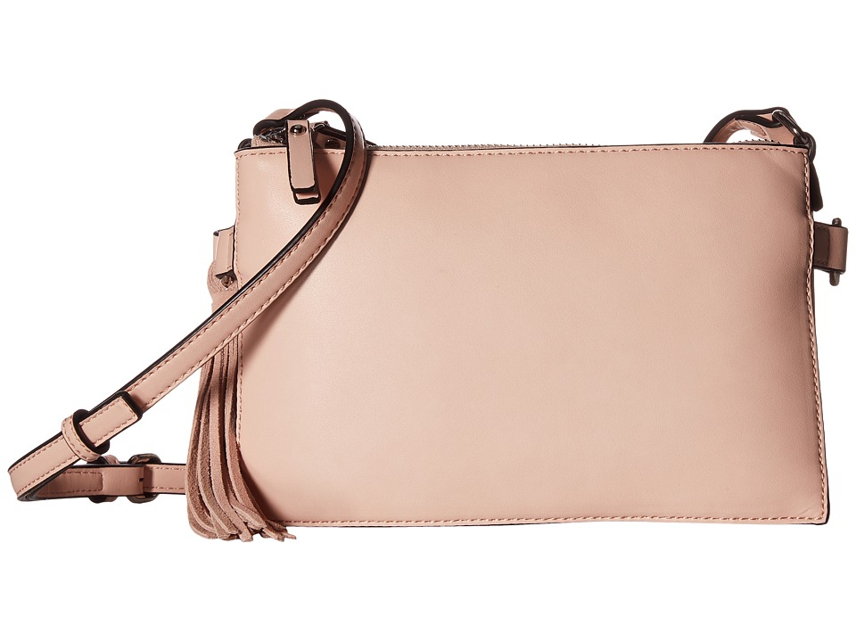 French Connection - Reese Trio Crossbody (Pink Opal) Cross Body Handbags