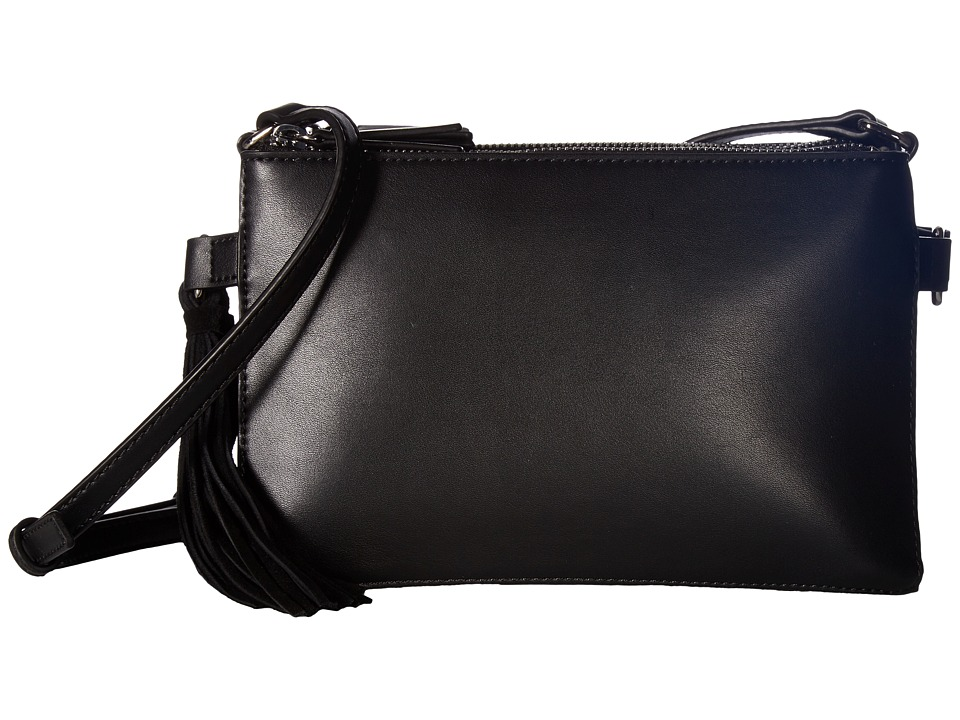 French Connection - Reese Trio Crossbody (Black) Cross Body Handbags