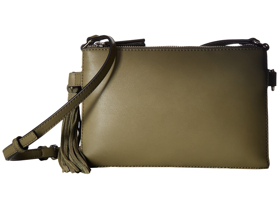 French Connection - Reese Trio Crossbody (Burnt Olive) Cross Body Handbags
