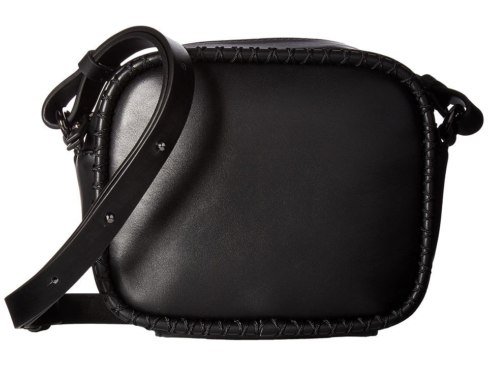 French Connection - Marlee Box Crossbody (Black) Cross Body Handbags