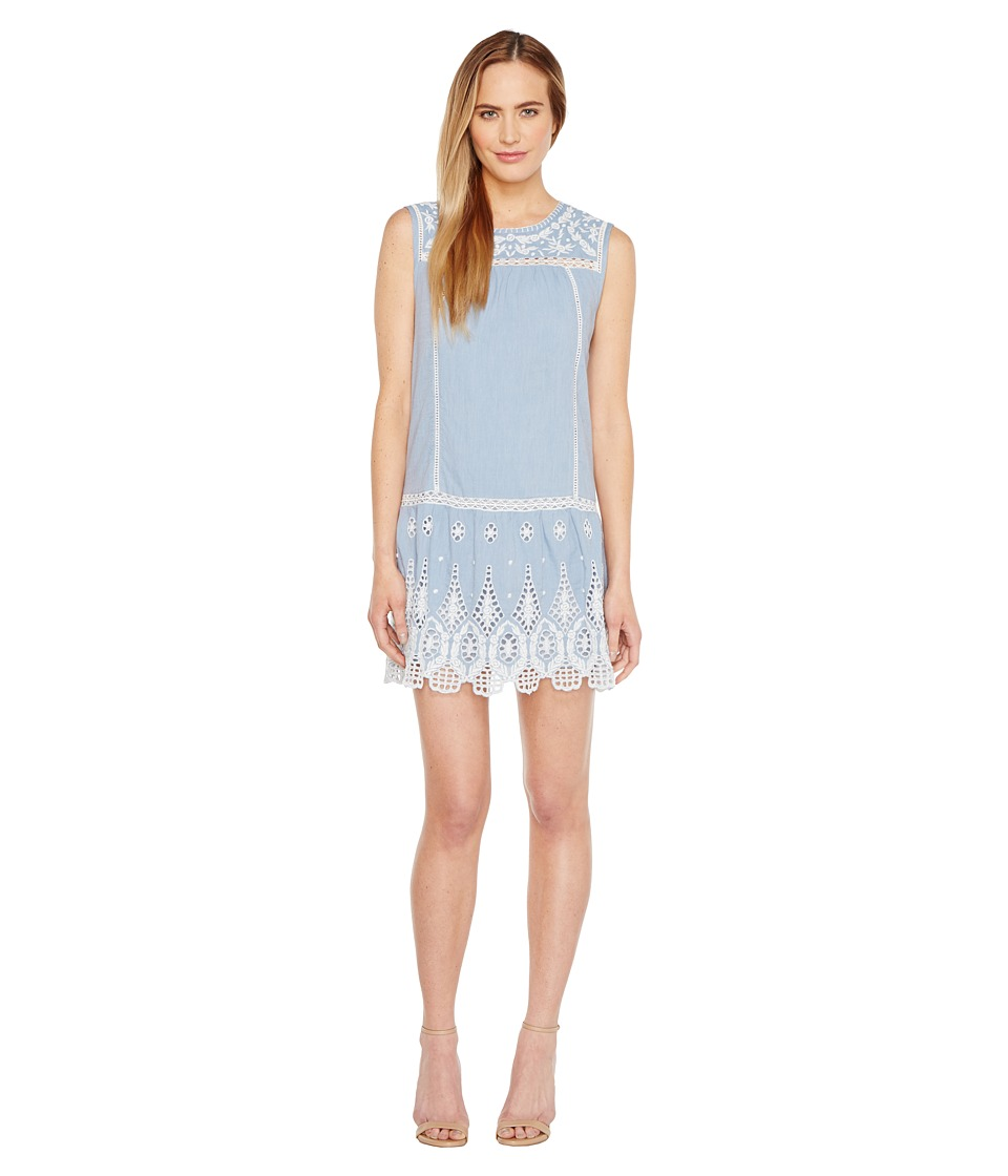 Joie Josune A288-D3039 Chambray-Porcelain Dress