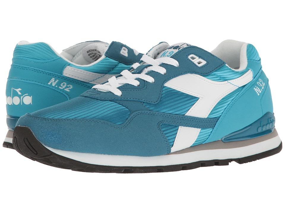 Diadora - N-92 (Blue Atoll/Celestial Blue) Men's Shoes