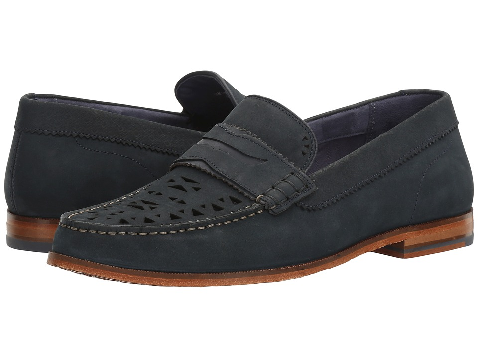 Ted Baker - Miicke 4 (Dark Blue) Men's Slip on Shoes