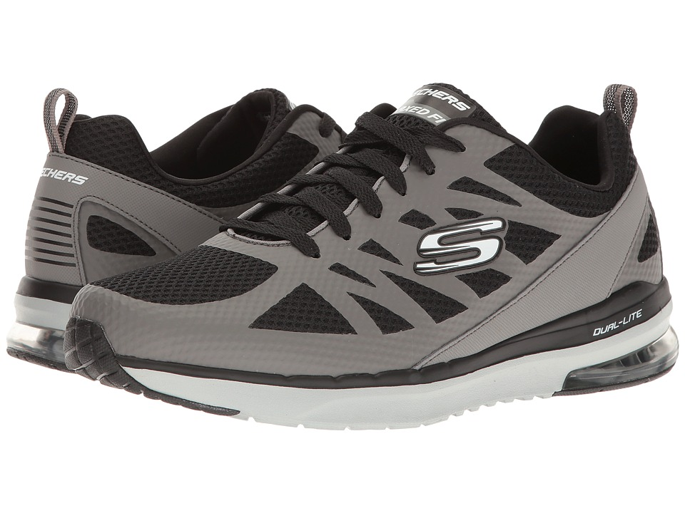 SKECHERS - Skech-Air Infinity (Grey/Black) Men's Shoes