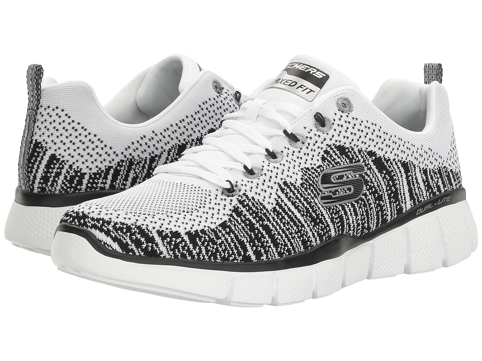 SKECHERS - Equalizer 2.0 Perfect Game (White/Black) Men's Shoes