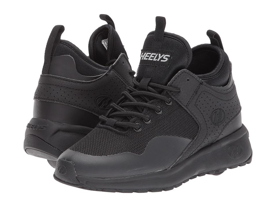 Heelys Piper (Little Kid/Big Kid/Adult) (Triple Black) Boys Shoes
