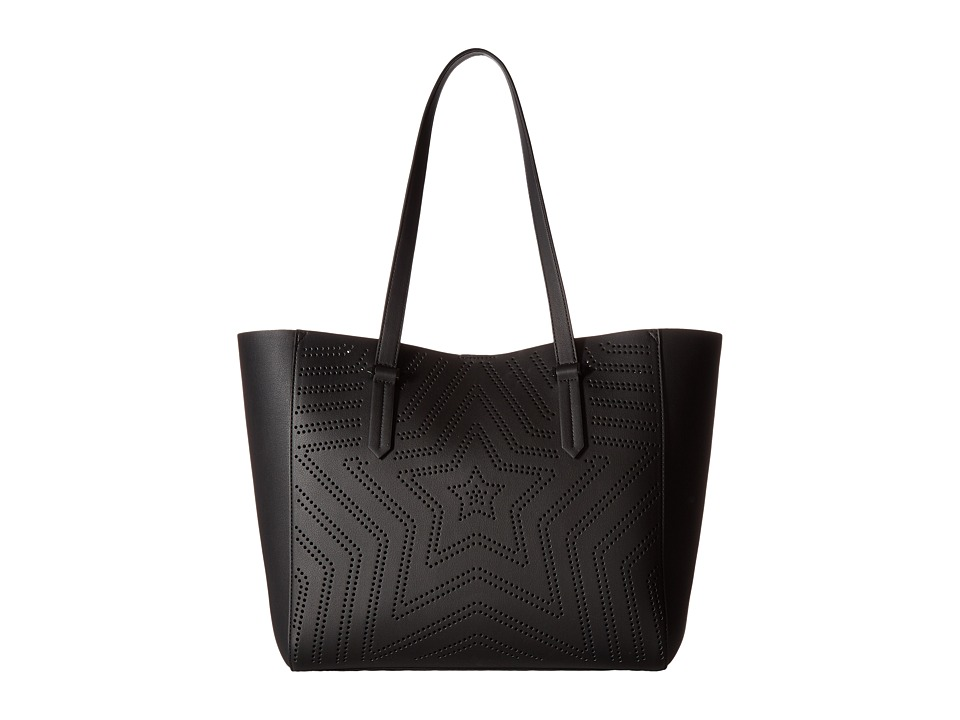 KENDALL + KYLIE - Shelly Star Tote (Black) Tote Handbags
