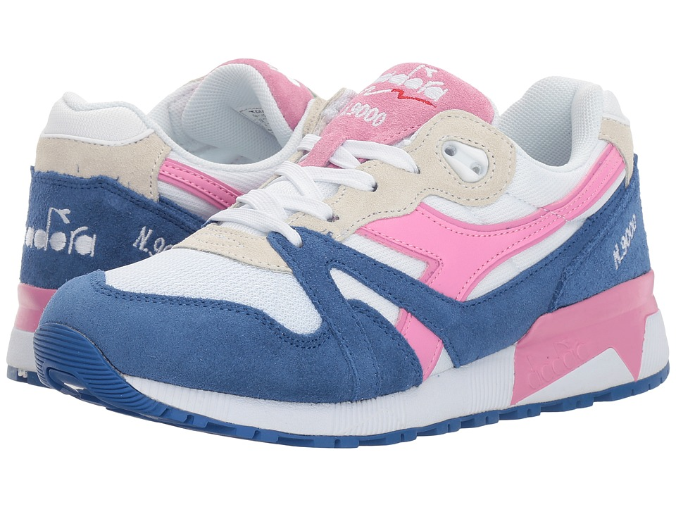 Diadora - N9000 III (Princess Blue/Fuchsia Pink) Athletic Shoes