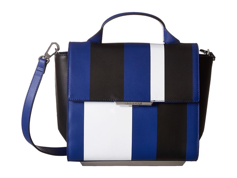 KENDALL + KYLIE - Mackenzie Stripe (Cobalt) Backpack Bags