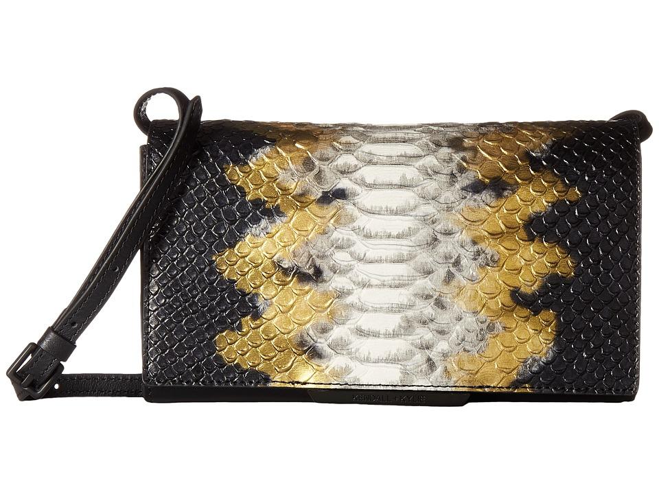 KENDALL + KYLIE - Hailey (Black Mix) Wristlet Handbags