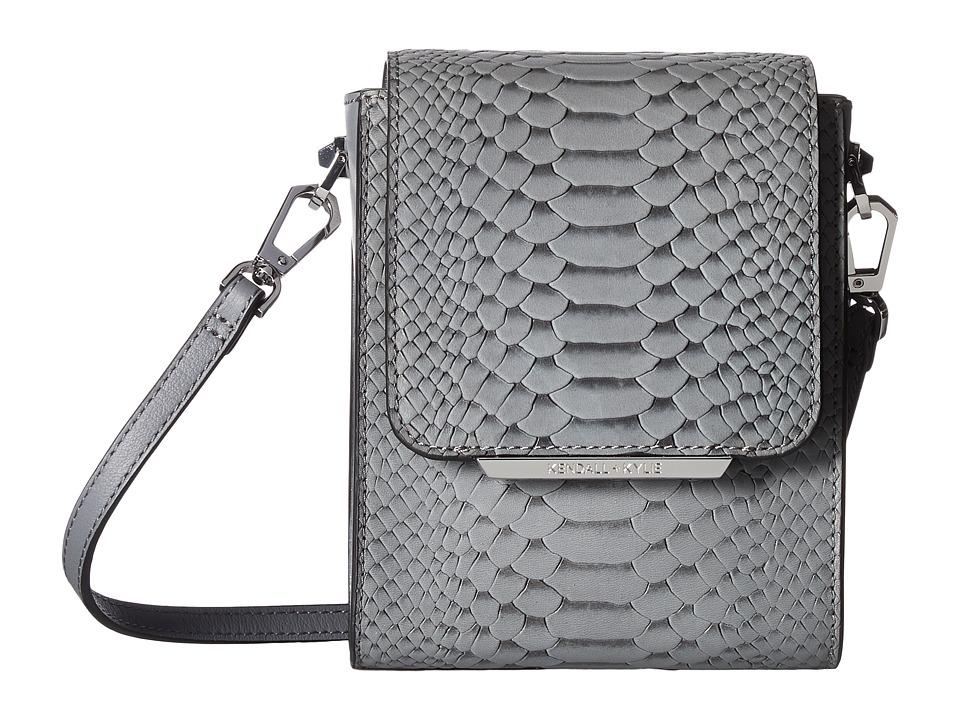 KENDALL + KYLIE - Violet Snake (Slate Grey) Shoulder Handbags