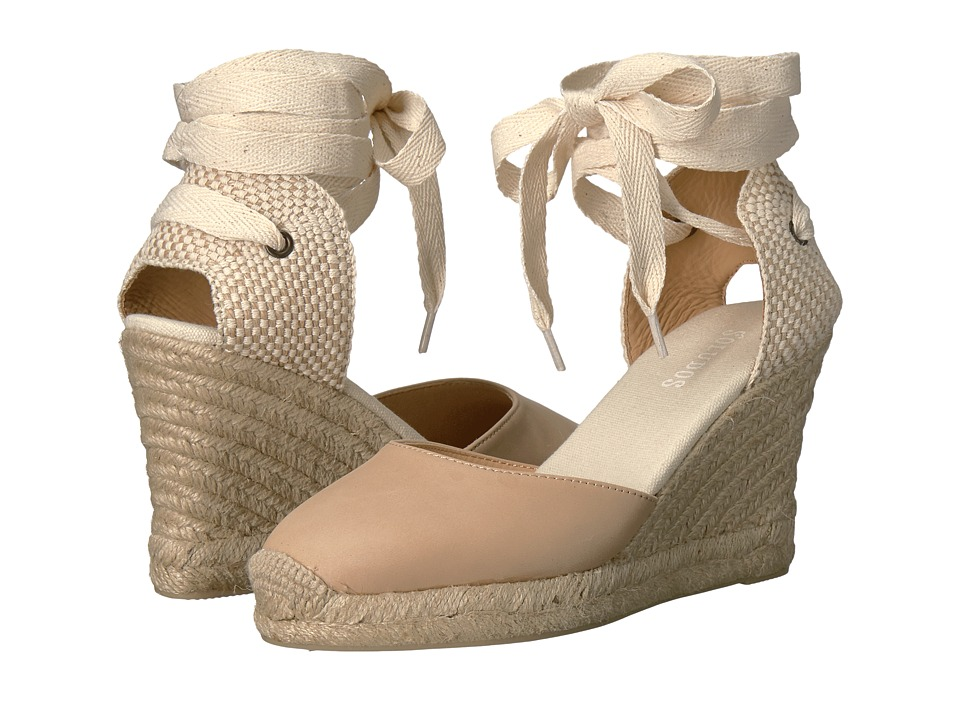 Soludos - Tall Wedge (Nude) Women's Wedge Shoes