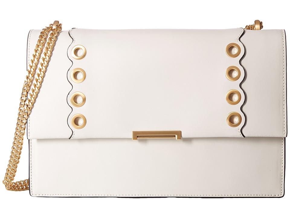 Ivanka Trump - Mara Large Shoulder (Dove Scallop Grommets) Handbags