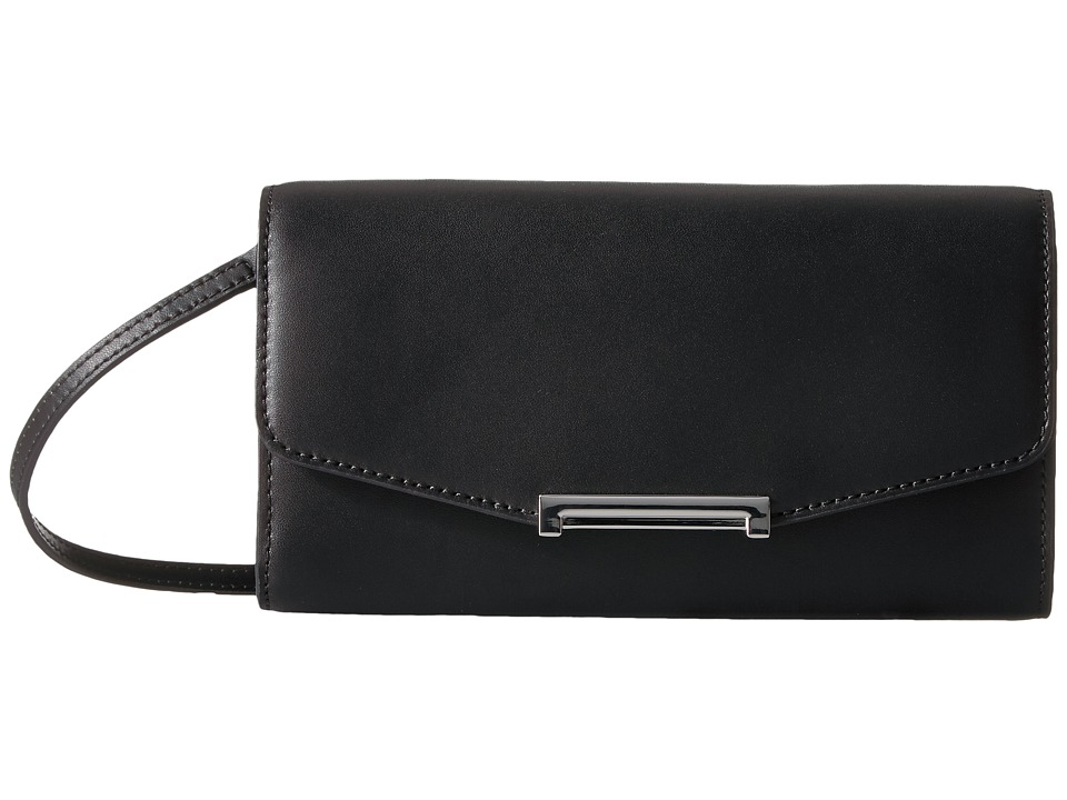 Ivanka Trump - Mara Crossbody Wallet (Black) Cross Body Handbags