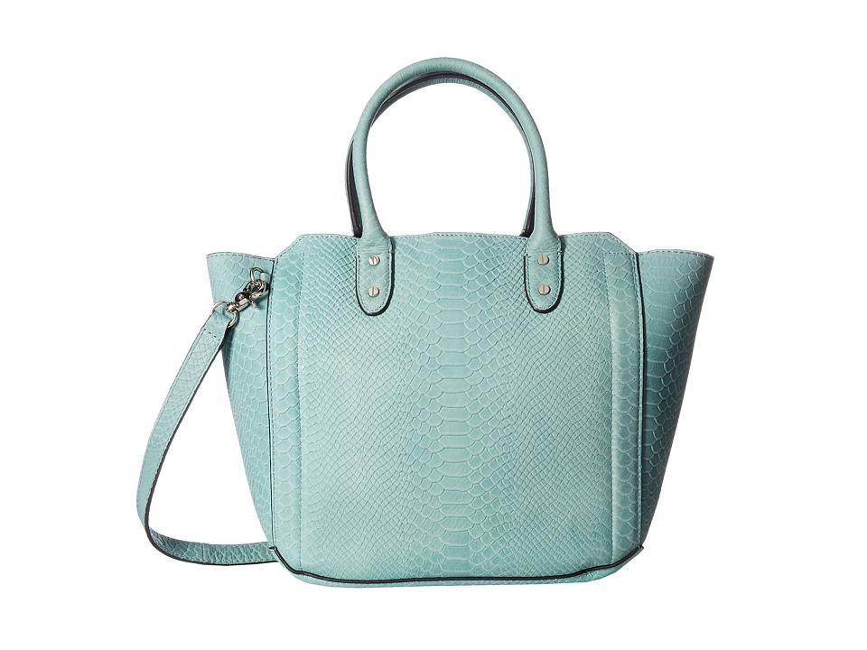 Ivanka Trump - Tribeca Solutions Satchel (Sage Matte Python) Satchel Handbags