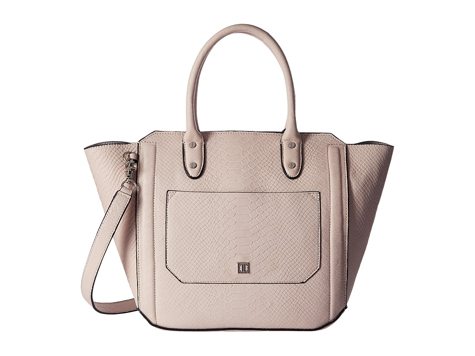 Ivanka Trump - Tribeca Solutions Satchel (Blush Matte Snake) Satchel Handbags