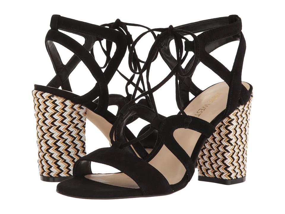 Nine West - Bizzy (Black Suede) Women's Shoes