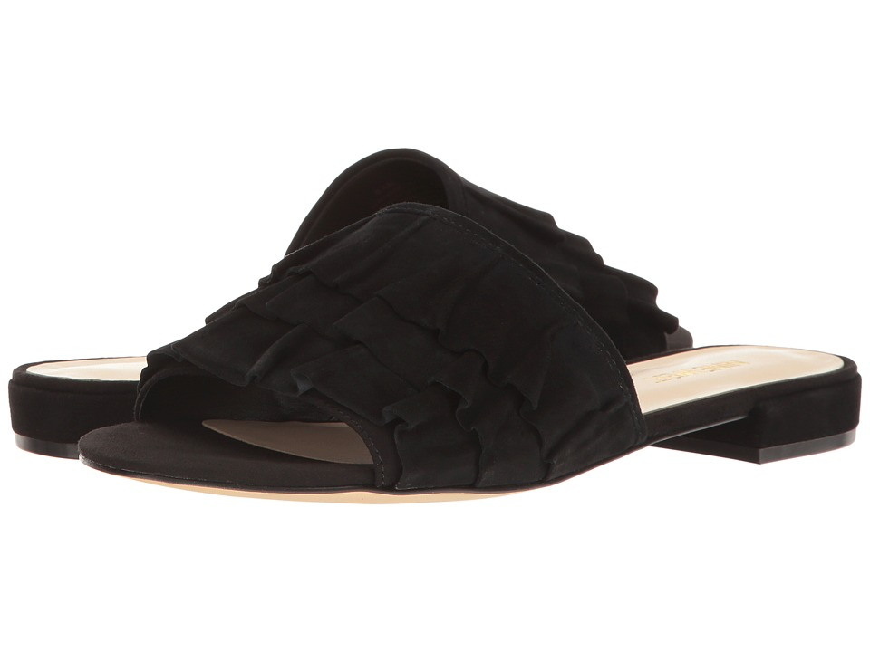 Nine West Ivarene (Black/Black Suede) Women