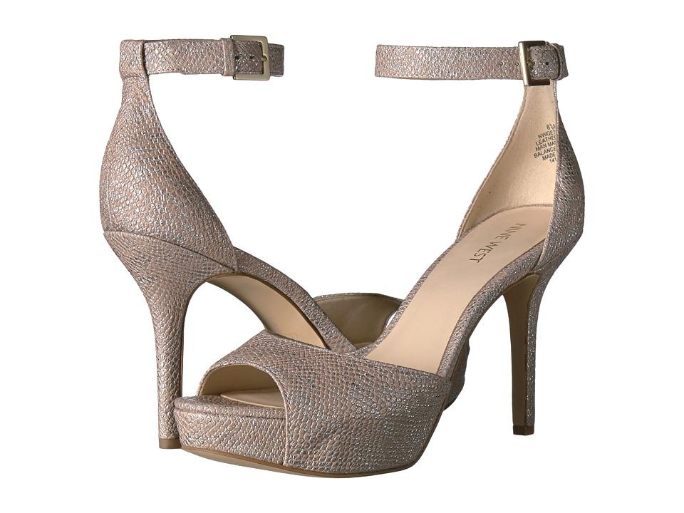 Nine West Qeturah (Light Natural Metallic) High Heels