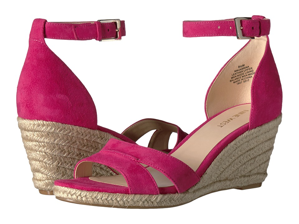 Nine West - Jabrina (Pink Suede) Women's Shoes