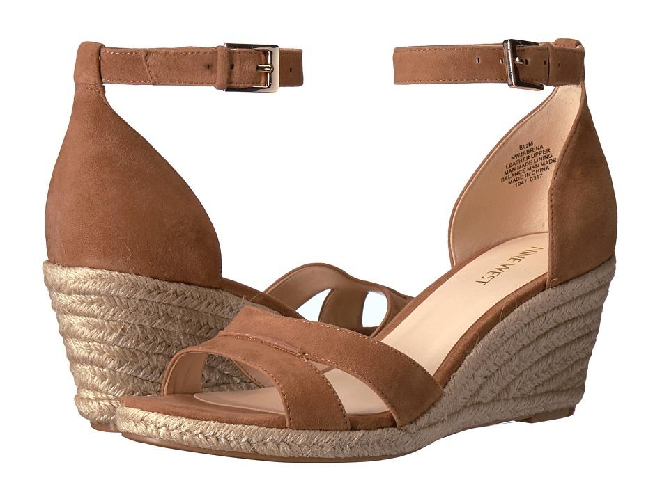 Nine West - Jabrina (Natural Suede) Women's Shoes