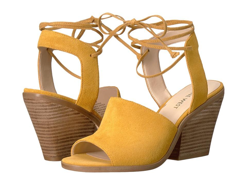 Nine West - Yanka (Dark Yellow Suede) High Heels