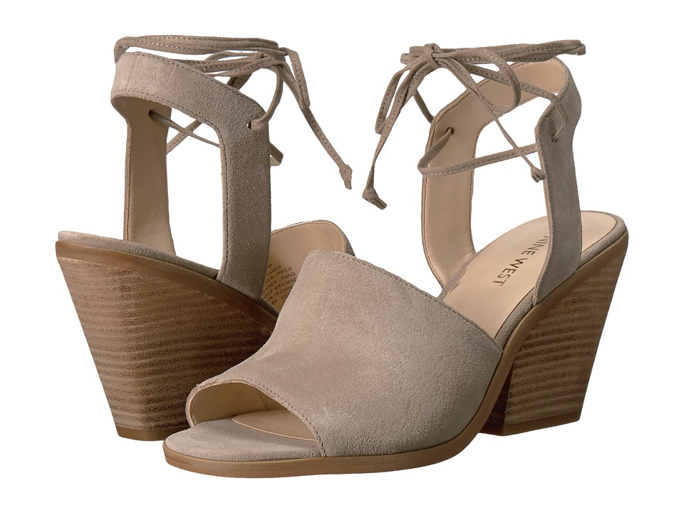 Nine West - Yanka (Taupe Suede) High Heels