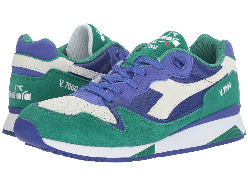 Diadora V7000 Premium (Royal Blue/Cadmium Green) Men