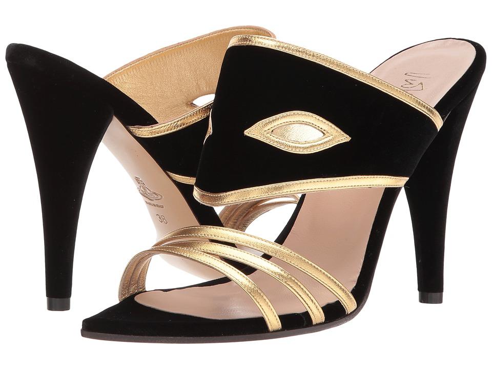 Vivienne Westwood Masque Sandals (Black) Women