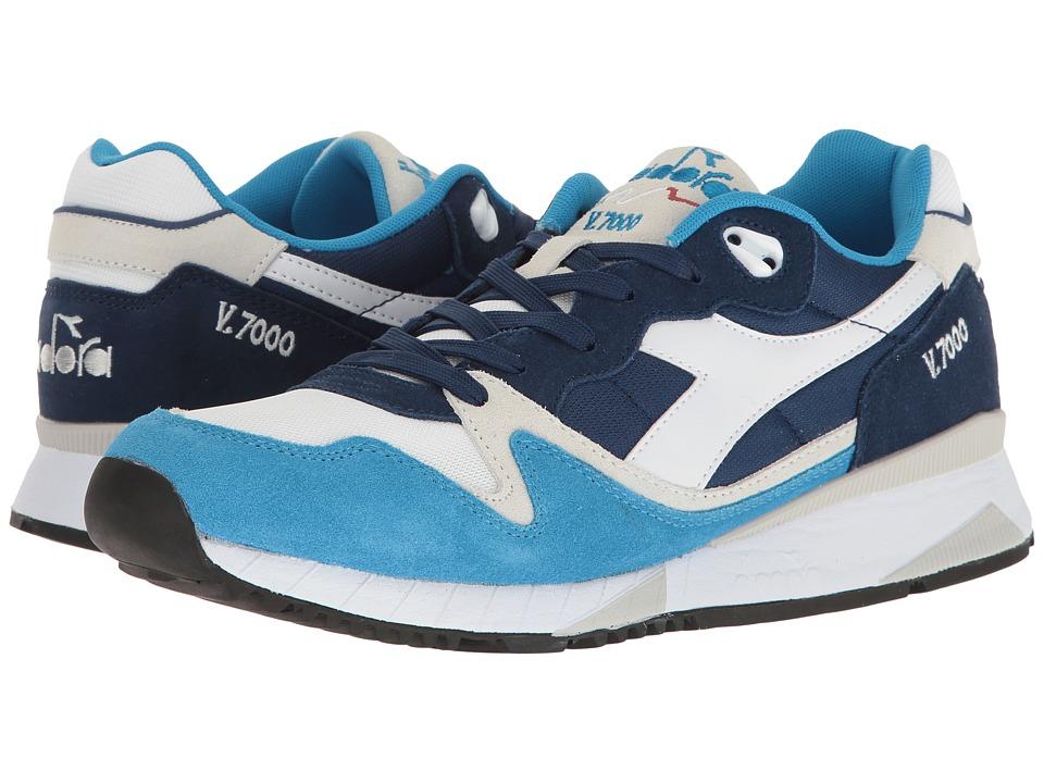 Diadora V7000 NYL II (Blue Aster) Athletic Shoes