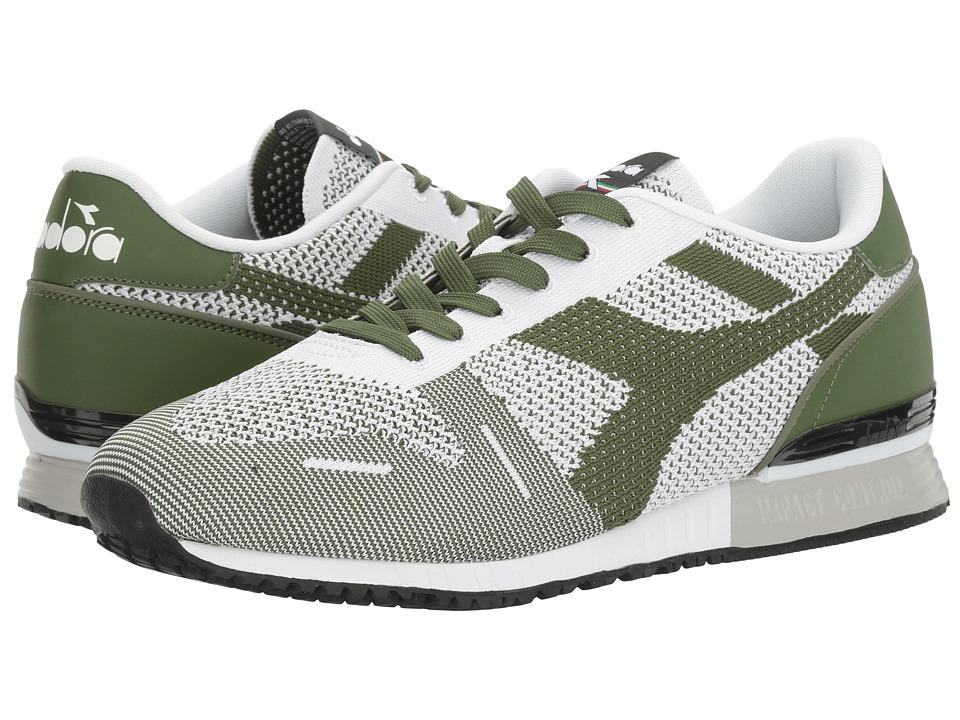 Diadora - Titan Weave (Green Galapagos/Black) Athletic Shoes