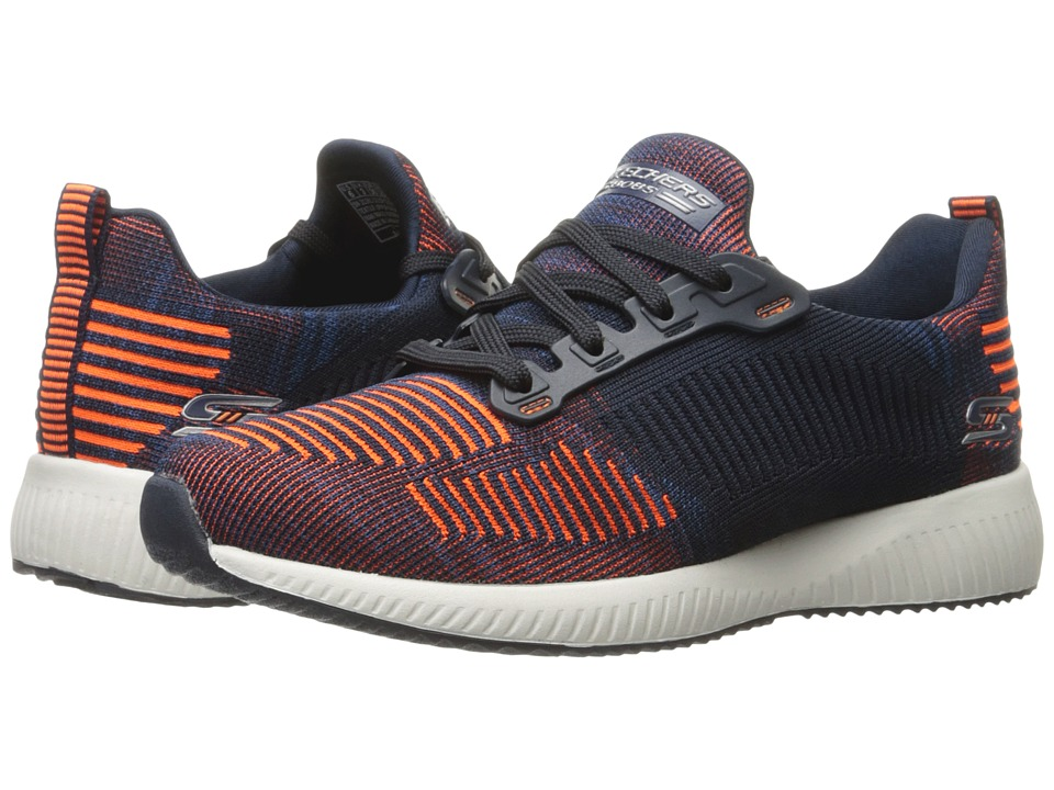 BOBS from SKECHERS Bobs Squad (Navy/Orange) Women