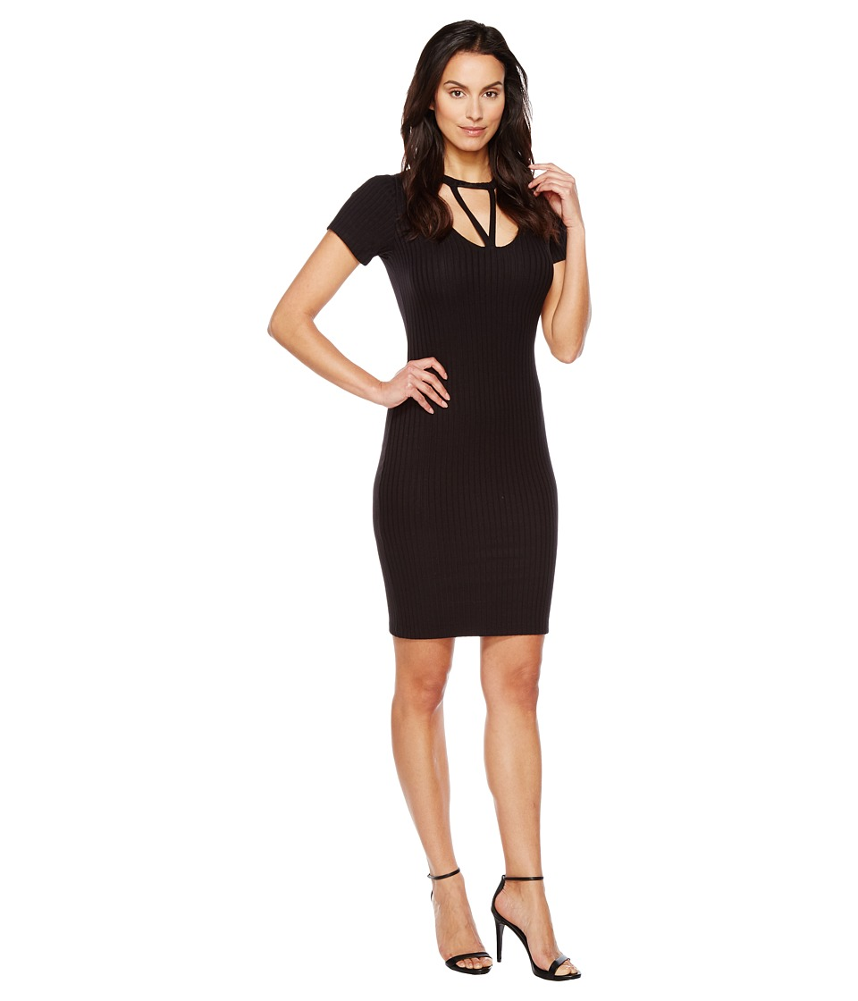 LNA Priestess Tee Dress (Black) Women