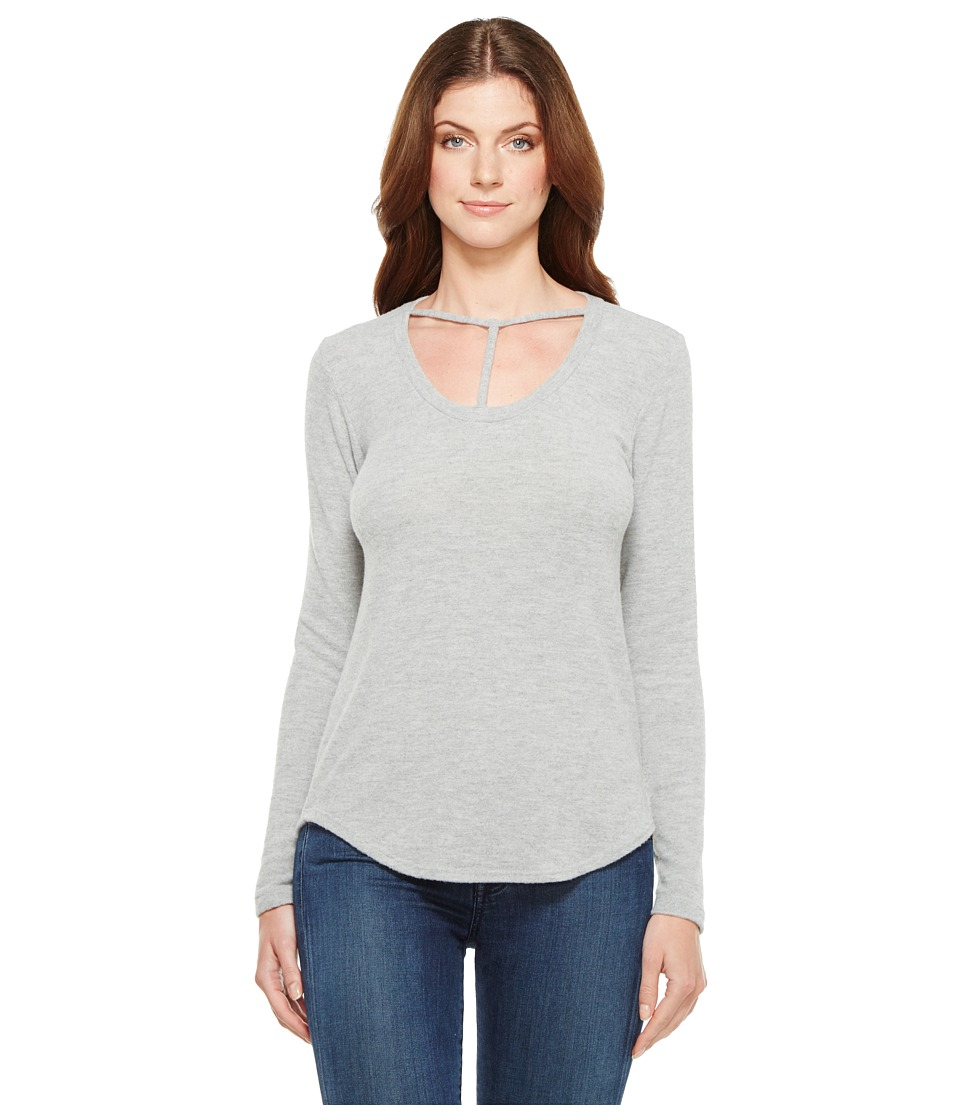 LNA - Curved Bondage Sweater (Heather Grey) Women's Sweater