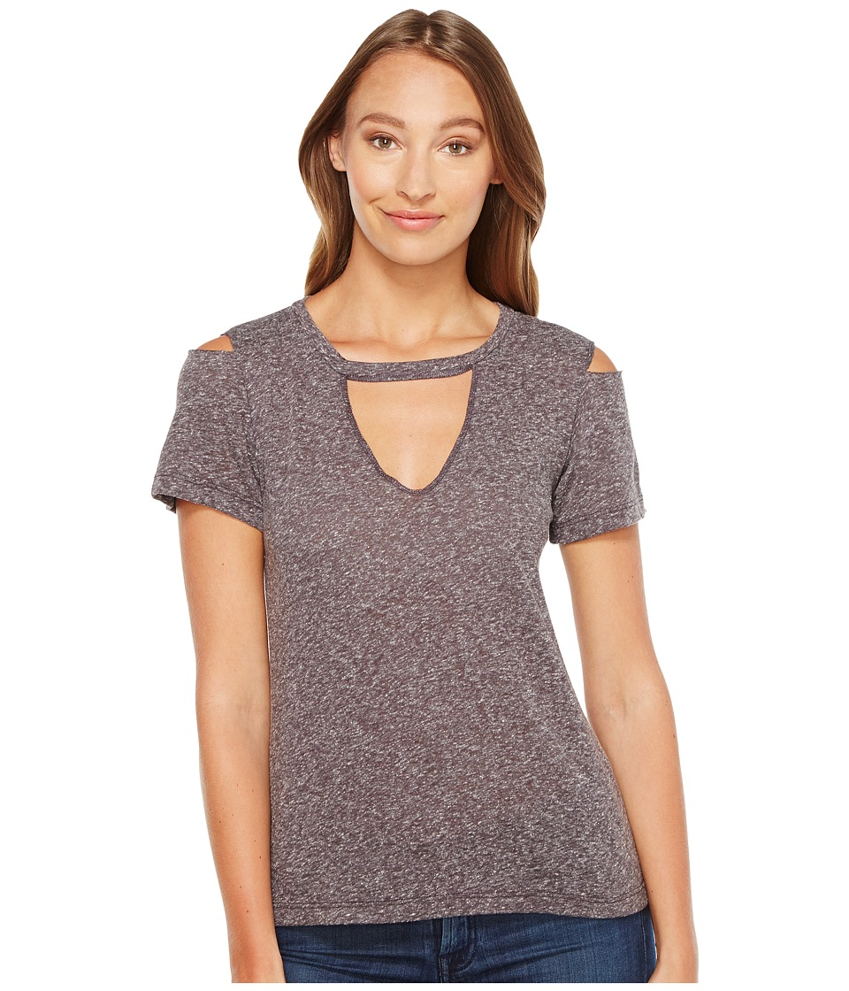 LNA - Aiden Tee (Heather Black) Women's T Shirt