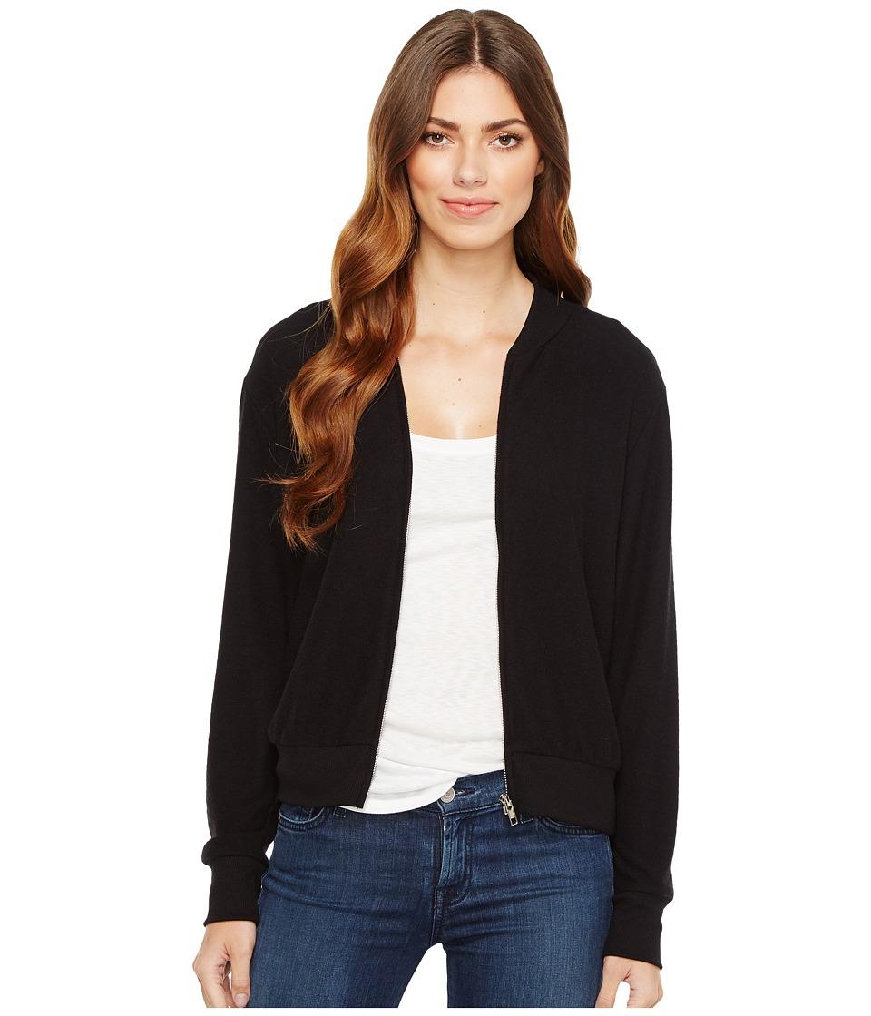 LNA - Cozy Bomber (Black) Women's Coat