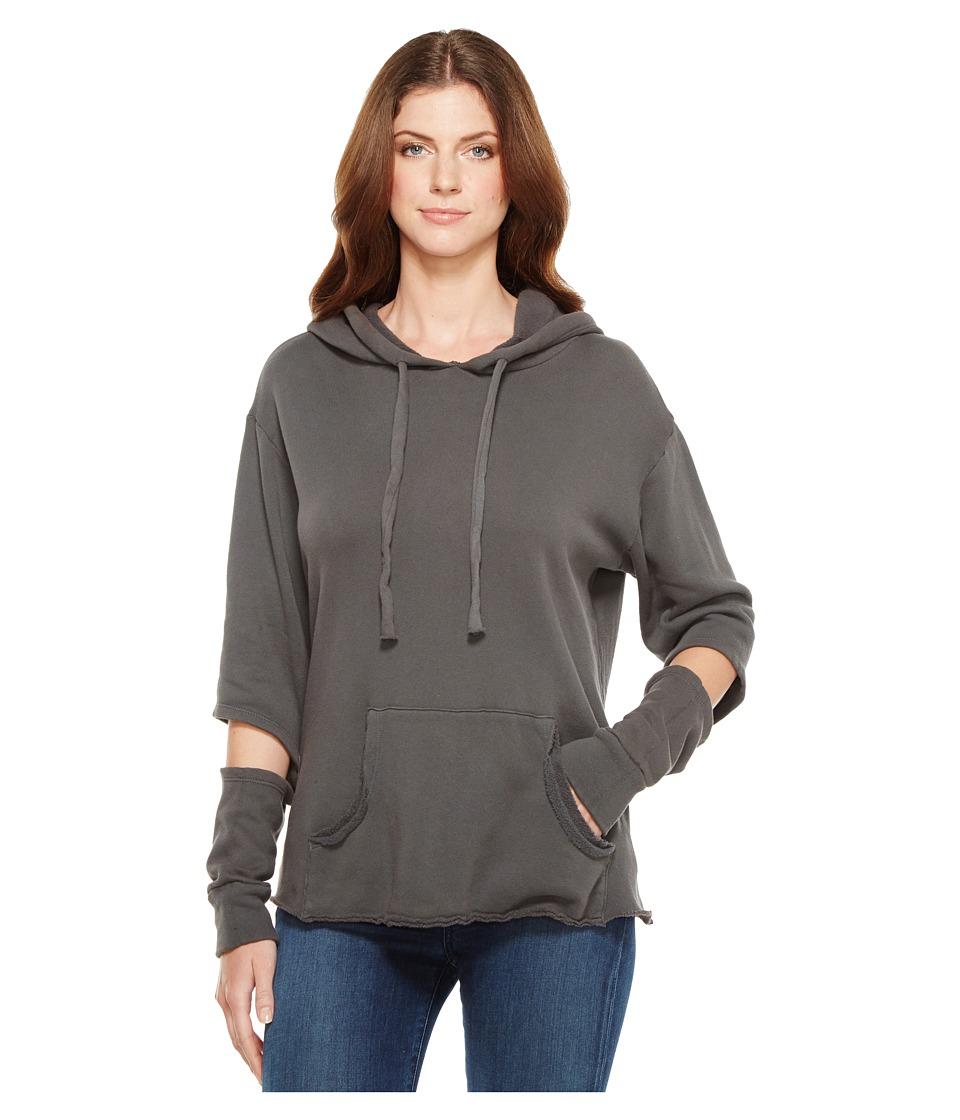 LNA - Axel Hoodie (Dark Grey) Women's Sweatshirt