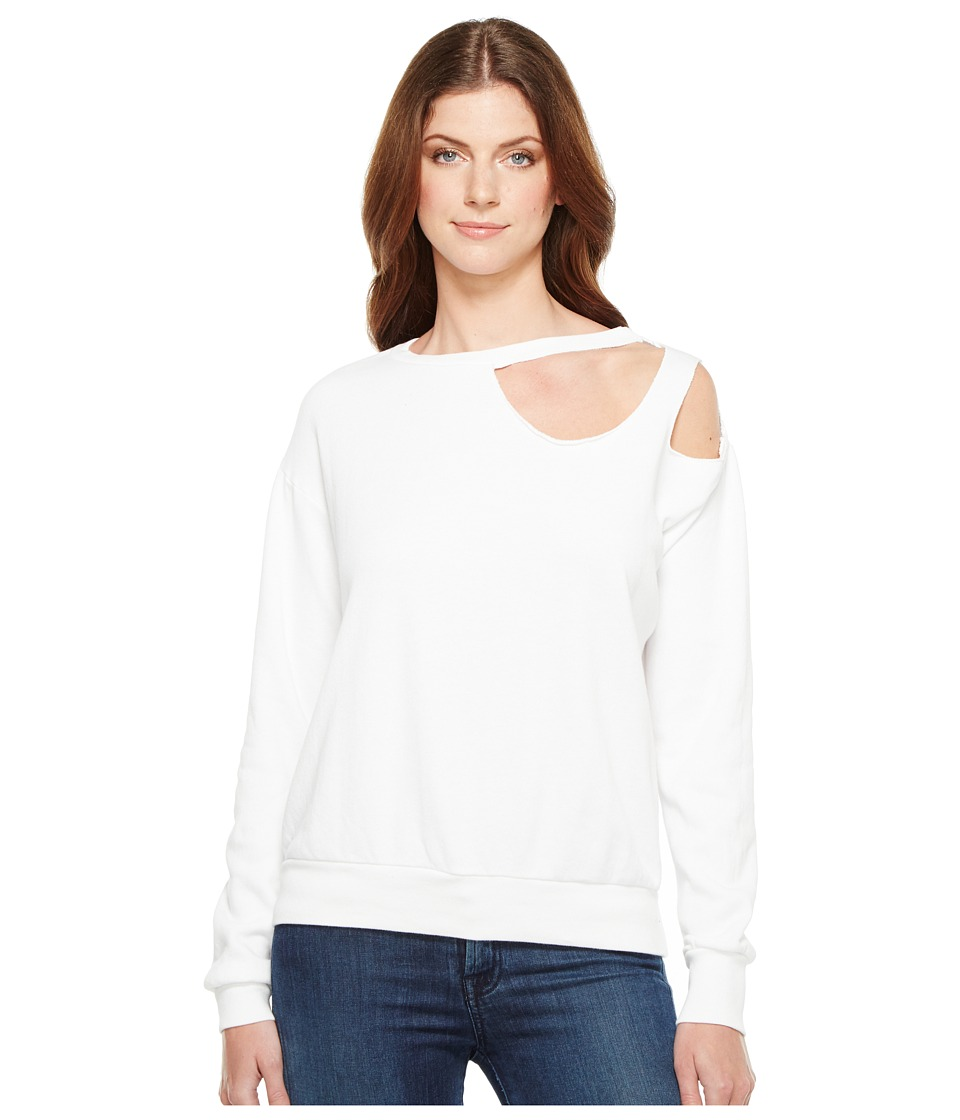 LNA - Gator Sweatshirt (White) Women's Sweatshirt