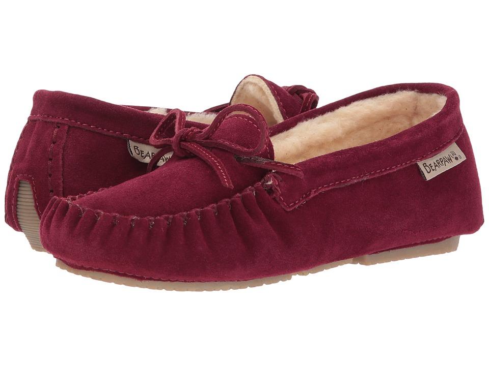 Bearpaw - Ashlynn (Bordeaux) Women's Slip on Shoes