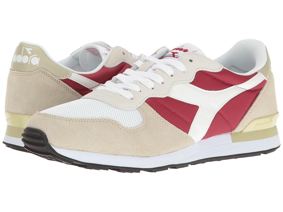 Diadora Camaro (Red Bud/Overcast) Athletic Shoes