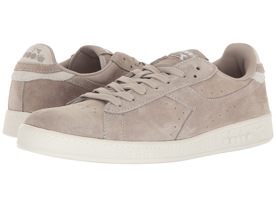 Diadora - Game Low S (Gray Silver) Athletic Shoes