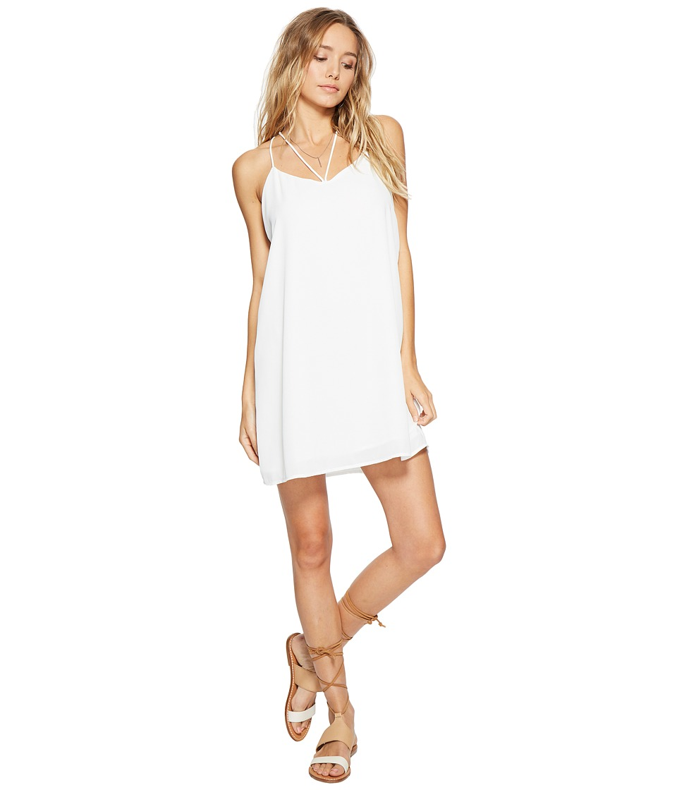 Lucy Love - Ask Me Out Dress (White) Women's Dress