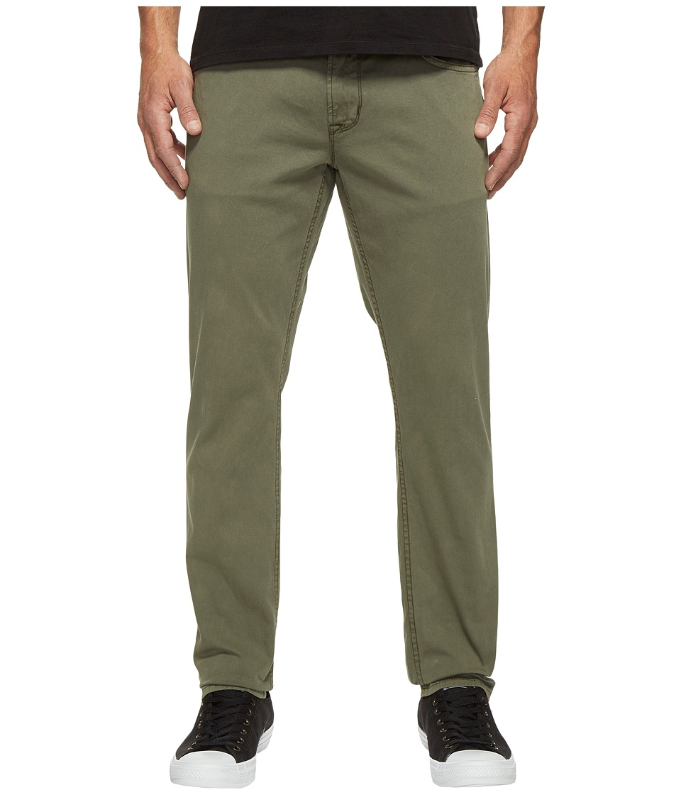 Hudson - Blake Slim Straight Jeans in Infantry Green (Infantry Green) Men's Jeans