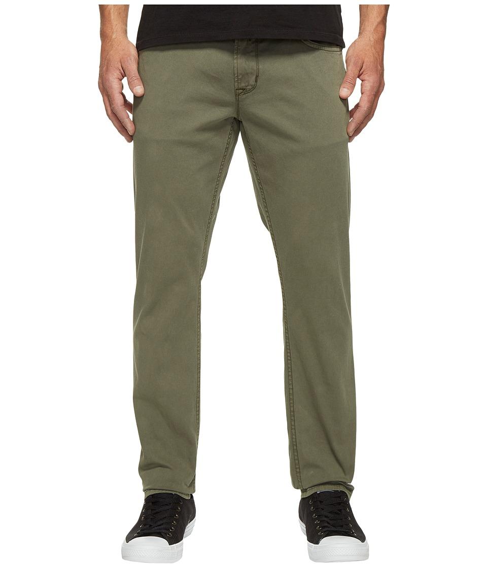 Hudson - Blake Slim Straight Jeans in Infantry Green (Infantry Green) Men's Jeans