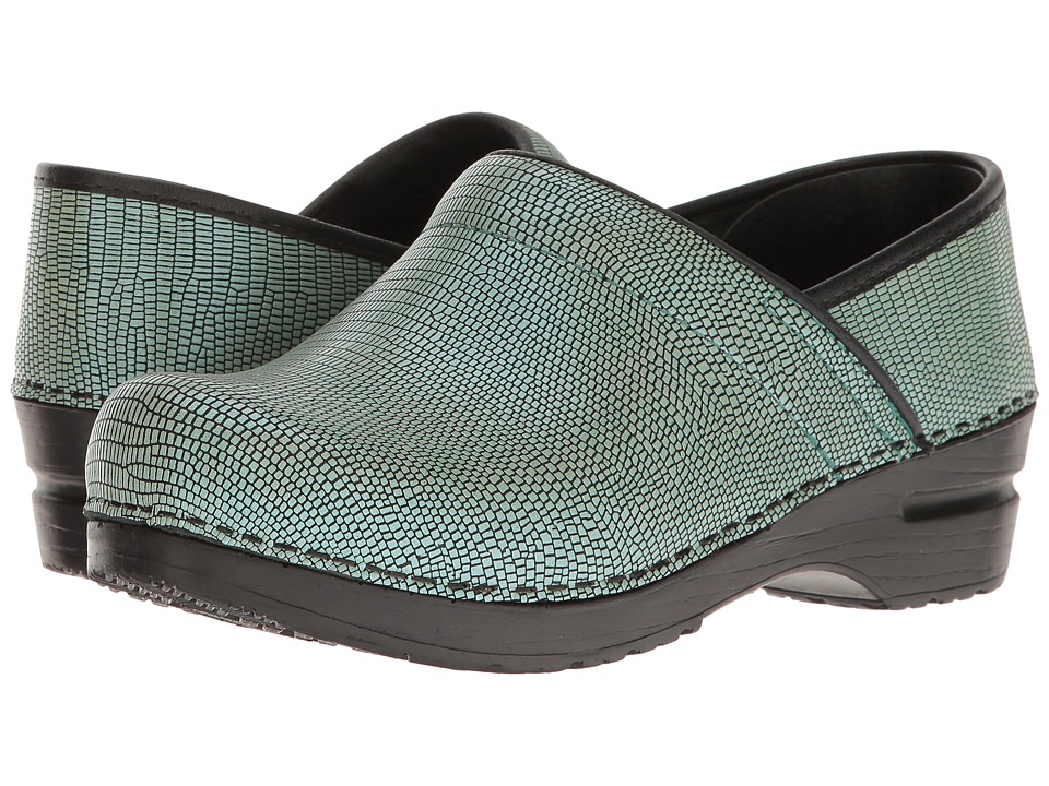 Sanita - Signature Professional Dream (Turquoise) Women's Clog Shoes