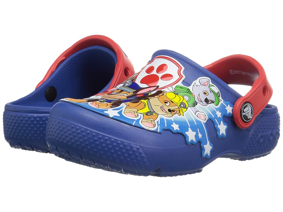 Crocs Kids - CrocsFunLab Paw Patrol Clog (Toddler/Little Kid) (Blue Jean) Kid's Shoes