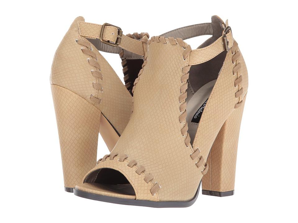 Michael Antonio - Jiah (Dark Sand Embossed Reptile) Women's Shoes